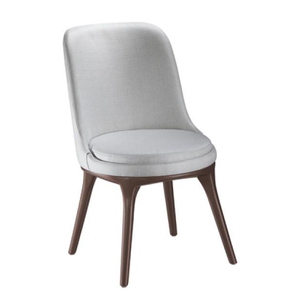 Cadeira Irene Estofada Sem Braço