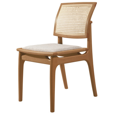 Cadeira Helena 02 New com Encosto em Tela sem Braço