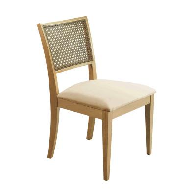 Cadeira Rose com Encosto em Tela