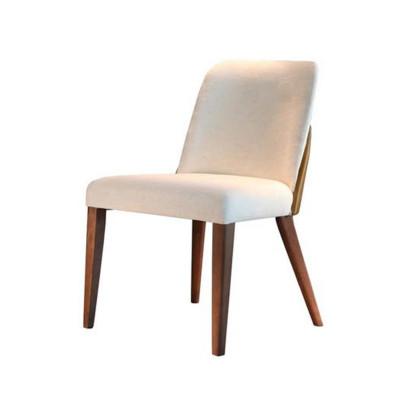 Cadeira Mara Encosto Estofado sem Braço