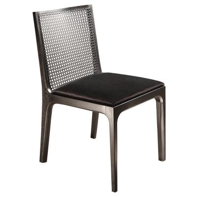 Cadeira Bethania 01 com encosto de tela sem braço