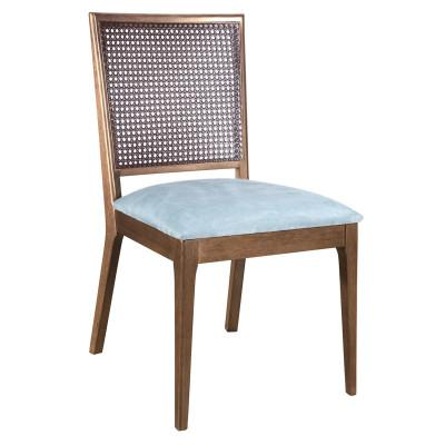 Cadeira Carmen New 01 com encosto em tela sem braço