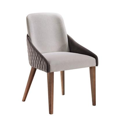 Cadeira Mara Plus Metalassê Encosto Estofado com Braço