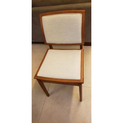 Cadeira Helena 02 New com Encosto Estofado sem Braço