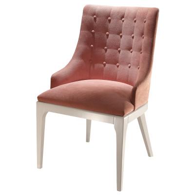 Cadeira Beatrice Botonê 04 com encosto estofado sem braço