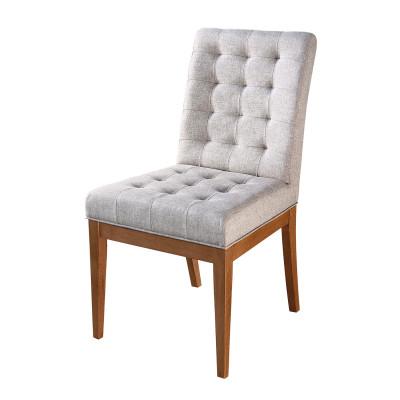 Cadeira Conforto com encosto estofado sem braço