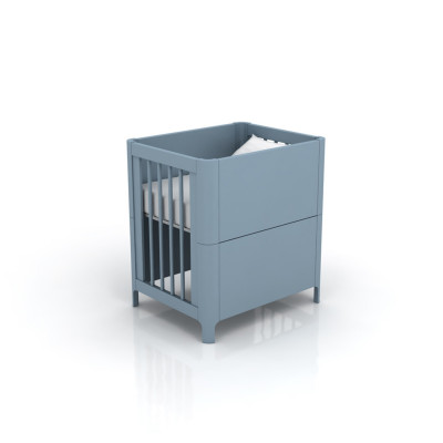 Mini Berço Bloom Azul 4169