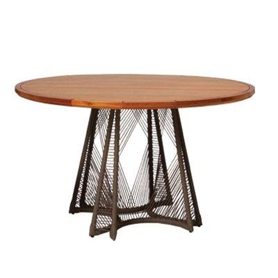Mesa com tampo de Madeira Révia